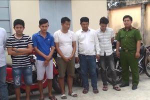 Hàng chục con bạc sát phạt trong rừng cao su ở Tây Ninh