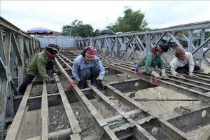 Sửa chữa, tôn tạo một số điểm thuộc di tích Chiến trường Điện Biên Phủ