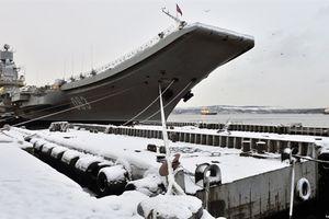 Nga phạt tù thủy thủ ăn cắp linh kiện tàu Kuznetsov