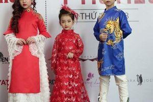 Lần đầu tiên thời trang quốc tế trẻ em được tổ chức tại Hoàng Thành Thăng Long