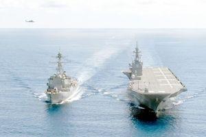 Nhật Bản sắp có tàu sân bay đầu tiên