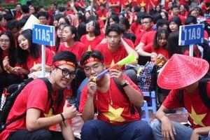 Hào hứng đề thi học kỳ môn Ngữ văn lớp 12 về các cầu thủ đội tuyển Việt Nam