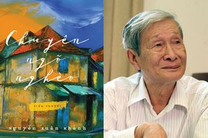 Nhà văn Nguyễn Xuân Khánh được trao Giải thưởng Thành tựu văn học trọn đời