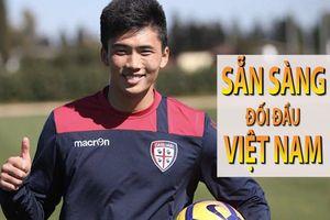 Tiền đạo của Cagliari sẽ cùng Triều Tiên đối đầu với Việt Nam