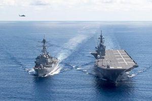 Nhật Bản sắp có tàu sân bay đầu tiên, Trung Quốc lên tiếng cảnh báo