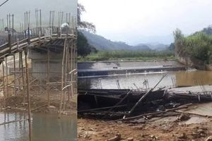 Yên Bái: Xác định nguyên nhân cây cầu đổ sập khi chưa kịp hoàn thành