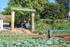 Bộ đội Biên phòng Gia Lai tham gia xây dựng nông thôn mới