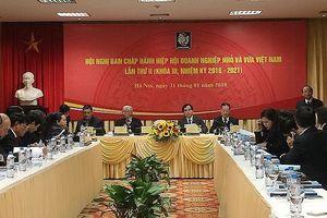 Hội nghị lần thứ III BCH TW Hiệp hội DNNVV Việt Nam khóa III nhiệm kỳ 2016 - 2021
