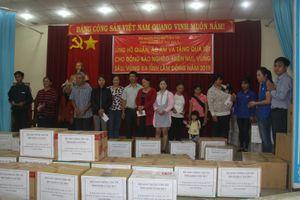 Ban QLDA 7 trao quà Tết cho người dân miền núi Lâm Đồng