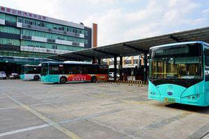 Thâm Quyến có 100% xe buýt chạy điện