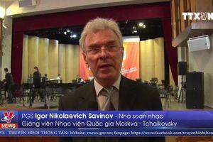 Sinh viên Việt Nam đạt giải tại Festival âm nhạc toàn Nga