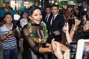 Vừa trở về từ Miss Universe, H'Hen Niê đã dành 100% tiền thưởng làm từ thiện