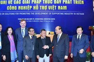 Thủ tướng mong muốn Việt Nam trở thành một 'công xưởng sản xuất' trong công nghiệp hỗ trợ