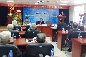 Tọa đàm 'Quang Đạm – Nhà báo, nhà trí thức cách mạng'