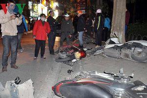 Vụ 'xế hộp' Lexus đâm liên hoàn tại Hà Nội: Nhân chứng kể lại sự việc