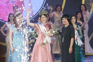 Thí sinh 49 tuổi đăng quang Người mẫu quý bà Việt Nam 2018