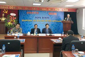 Tọa đàm về nhà báo Quang Đạm