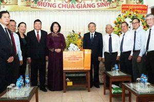 Phó Chủ tịch nước chúc Giáng sinh các mục sư, tín đồ Tin Lành