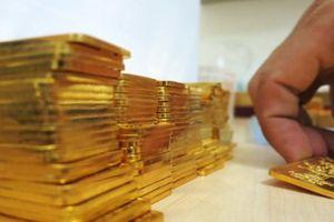 Giá vàng xuyên thủng đáy 12 tháng