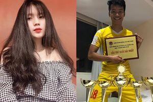 Lại 'khai quật' thêm gái xinh là người yêu của 'tân binh' vừa được thầy Park triệu tập chuẩn bị cho Asian Cup
