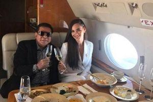 Thông tin bất ngờ về tỷ phú đón tân Hoa hậu Hoàn vũ về Philippines bằng chuyên cơ