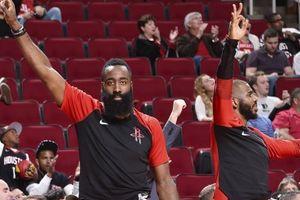 Hậu Harden bị chế nhạo chỉ biết câu lỗi, Rockets hủy diệt Wizards bằng cơn mưa ba điểm