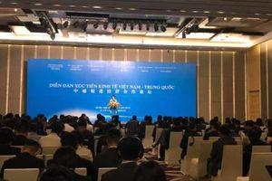 Thúc đẩy hợp tác kinh tế, thương mại Việt Nam - Trung Quốc