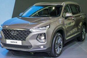 Hyundai SantaFe 2019 được trang bị công nghệ mở khóa bằng vân tay