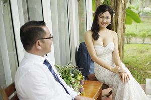 Người đẹp đi tu bị tố 'cướp chồng': 'Tôi không giành giật của ai, anh ấy tự đến với tôi'