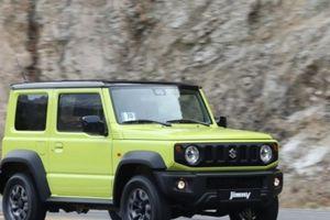 Suzuki Jimny LA gặp lỗi phanh tự động khẩn cấp