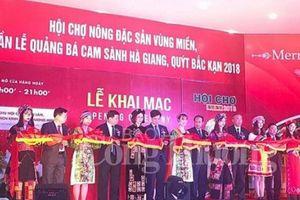 Quảng bá cam sành Hà Giang, quýt Bắc Kạn tại Hà Nội
