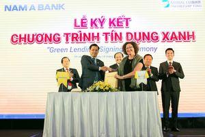 Nam A Bank công bố dự án cộng đồng 'Tôi chọn sống xanh'