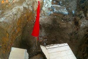 Phát hiện một kho đạn pháo trong khi đào móng công trình