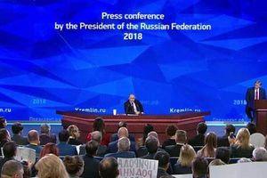 Ông Putin: Sự hiện diện của Mỹ ở Syria là bất hợp pháp, không cần thiết cho giải pháp chính trị