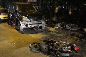Xe Lexus đâm liên hoàn: Sẽ khó khởi tố vụ án nếu...