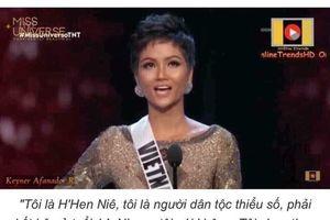 Phát ngôn của Hoa hậu H'Hen Niê thành trào lưu mới trên mạng xã hội