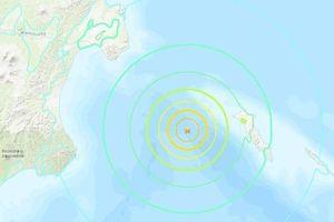 Động đất 7,4 độ richter rung chuyển vùng Viễn Đông của Nga
