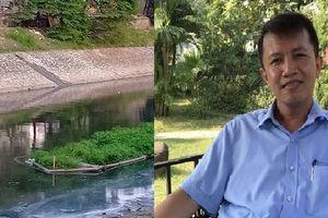Chuyên gia chỉ ra điểm bất cập khi dẫn nước sông Hồng 'cứu sống' sông Tô Lịch