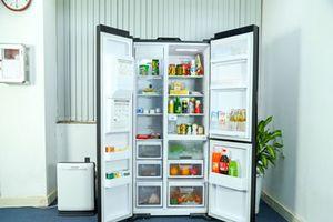 Đánh giá tủ lạnh Hitachi side-by-side R-M700AGPGV4X giá 78,5 triệu đồng