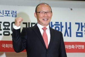 Ông Park Hang Seo trở thành 'Nhân vật tiêu biểu của châu Á năm 2018'