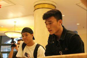 Những hình ảnh đầu tiên trong buổi hội quân của các tuyển thủ Việt Nam tại khách sạn