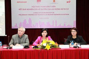 Thúc đẩy quyền an sinh xã hội của lao động nữ di cư ở Việt Nam