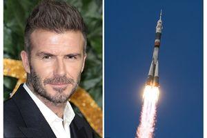 David Beckham muốn trở thành cầu thủ đầu tiên bay vào vũ trụ