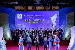 Trở lại thị trường trong nước, Vicostone chinh phục Thương hiệu quốc gia