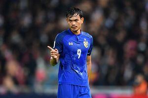 Tiền đạo Adisak: 'Thái Lan phải trở lại sau thất bại ở AFF Cup'