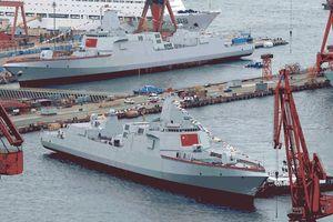 Trung Quốc mở rộng nhà xưởng, tăng tốc độ đóng tàu chiến