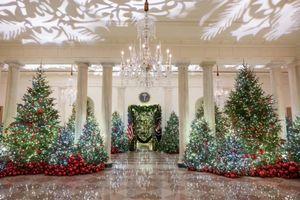 Không khí đón Giáng sinh tưng bừng trong khuôn viên Nhà Trắng
