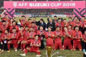 Bóng đá Việt Nam khép lại năm 2018 với vị trí thứ 100 thế giới