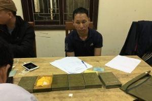 Bắt một đối tượng cùng sáu bánh heroin tại cảng Cửa Lò