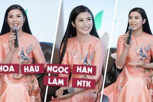 Hoa hậu Ngọc Hân làm NTK trong 'Duyên dáng Việt Nam 30'